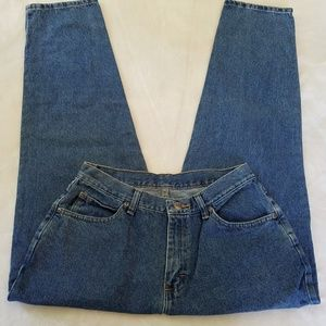Vintage 80's Chic high waisted mom jeans